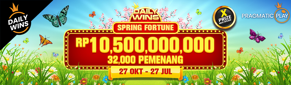 PP Daily Wins - Spring Fortune